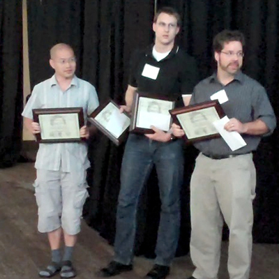Three of the 2011 award recipients.